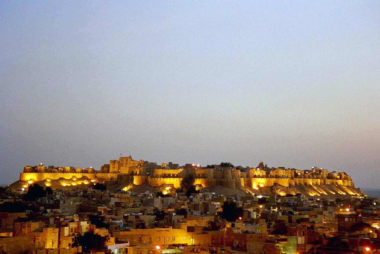 History of Jaisalmer Fort