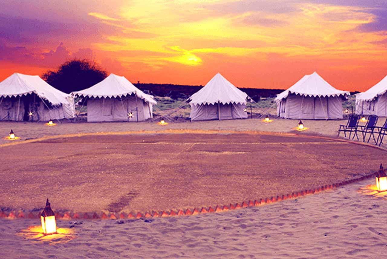 Top 10 Desert Camps in Jaisalmer